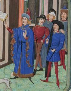 Christine von Pisan, Epitre d'Othea Frankreich · um 1460 Cod. Bodmer 49  Folio 7r