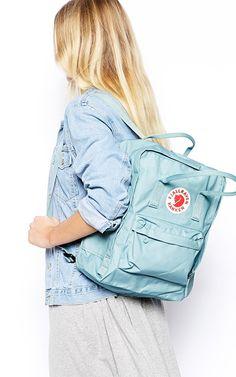 Kanken Classic Backpack (Blue-Ridge, One_Size) Little Backpacks, Backpacks For Sale, Cute Backpacks, Latest Bags, Kanken Backpack, Fashion Bags, Women's Fashion, Kids Fashion, Handbags
