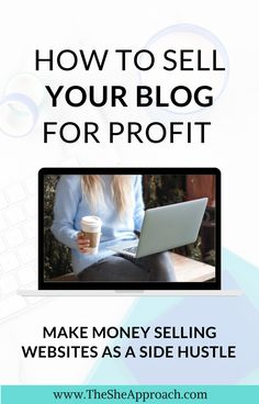 There is a lot of ways from you can earn money online and from blogging. I will show you step by step how you can earn money as a blogger, even if you are a beginner or not. In this post I will show you how to sell your blog for profit & how to make money as a side hustle! #makemoneyasablogger #makemoneyfromnblogging #sellyourblogforprofit Earn Money Fast, Earn Money Online, Make Money Blogging, How To Make Money, Earning Money, Online Business From Home, Start Up Business, Business Ideas, Budgeting Money