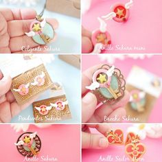Sakura/Sailor Moon collection by Ladyarcoiristienda on Etsy