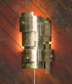 Wall Sconce Deconstructed Fire Extinguisher by mattjohnsondesigns, $365.00