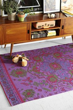 Magical Thinking Overdyed Printed Rug