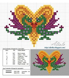 мои творилки: схемы - this would make the centerpiece of a lovely wedding sampler