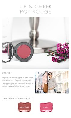 Stowaway is perfectly portable color for women that want right sized #makeup when on the go.