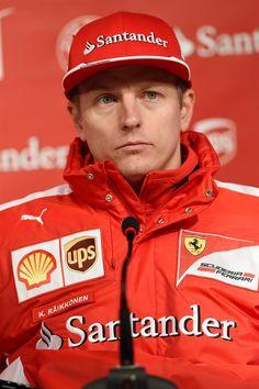 Kimi Raikkonen, Jerez Winter Test, 2015