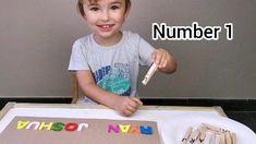 Name Activities Preschool, Preschool Literacy, Preschool Learning Activities, Preschool Education, Indoor Activities For Kids, Educational Activities, Preschool Activities, Preschool Name Recognition, Kids Learning