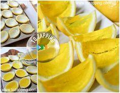 ¿Habéis probado alguna vez la gelatina de frutas, limones de gelatina?. Un postre divertido que aúna los beneficios de la fruta natural y de la gelatina