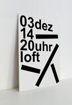 Clikclk / Studio Verena Hennig - Loft posters
