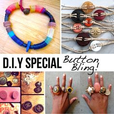 DIY Special: Button bling