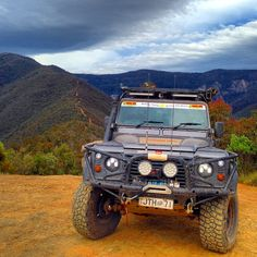 """jamieonline: """"Billy Goats Bluff Vic High Country. #landrover110 #greatwhites #bor #bfg #led #offroadadventureshow #vichighcountry #adventure #filming #camping #defender #dirtroads #australianbushman..."""