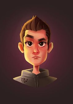 Avatar for your social networks  Cartoon yourself.  #custom #portrait #illustration #caricature #etsy #avatar #caricature #caricaturemaker