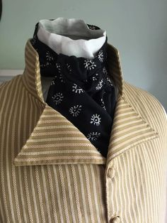 Early 19th Century Neckcloth  / Regency / by TheNeedleworkers