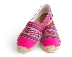 """Discovered: Espadrilles from Spain at J.Crew; these lovelies are a treasure going into Spring.  Looking for a little pick- me-up, then these are a great option. Check out the other cool items on """"Discovered"""" online at jcrew.com"""