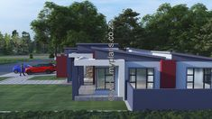 3 Bedroom House Plan – My Building Plans South Africa Home Design Floor Plans, Plan Design, My Building, Building Plans, Floor Layout, Bedroom House Plans, Open Plan Living, Crib, South Africa