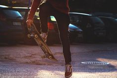 There is mind over matter and the body over mind. Skateboarding is body over mind...............I think.
