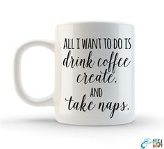 Unique Funny Coffee Mug Tea Mug Coffee Cup Ceramic by artstudio54