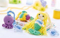 FREE CROCHET PATTERN: Dummy strap toys