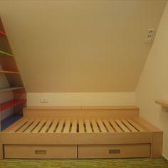 #nabytek #home #interier #interior #design #nabyteknamiru #wood #drevo #furniture #truhlarstvi #remeslo #joinery #carpentry #domov #childrenroom #praskacka #detskypokoj #children #kids #deti #postel #rozkladacipostel Joinery, Carpentry, Kids Room, Interior Design, Children, Wood, Furniture, Carving, Nest Design