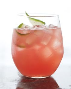 Watermelon Cucumber....will definitely be testing this on the family...non-alcoholic, of course!