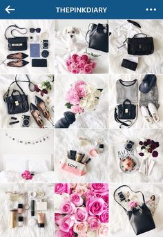 Miniguia do Instagram bonito e harmonioso! - Fashionismo Instagram Feed Tips, Instagram Editing Apps, Instagram Outfits, Coffee Photography, Photography Business, Selling Used Clothes, Feed Insta, Flower Bag, Clothing Photography