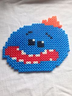 Mr Meeseeks Rick and Morty Perler Hama Bead Sprite / by Craftians