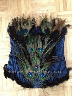 Woman's Homemade Peacock Costume ... This website is the Pinterest of costumes