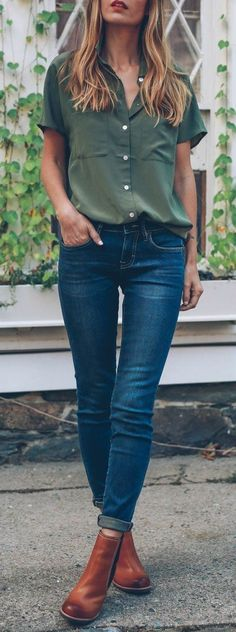 #fall #outfits blue jeans
