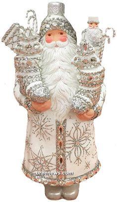 Cliveden Claus by Patricia Breen  Pearl//Silver