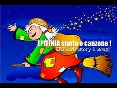 Filastrocca e storia in inglese della #BEFANA per bambini, Epiphany Bilingual- storia & song for kids