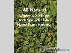 Spinach Flakes Dried, Order now, FREE shipping in San Francisco CA - Free San Francisco SuperAds