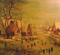 Pieter Brueghel the Elder Unique Oil Painting Original