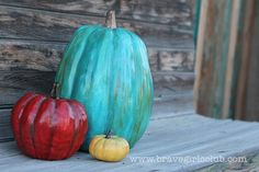 Creative Pumpkins! More fun, more colors!