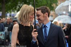 http://news-all-the-time.com/2014/05/12/james-mcavoy-and-his-wife-anne-marie-duff-share-a-tender-moment-as-they-attend-x-men-premiere-in-london/ - James McAvoy and his wife Anne-Marie Duff share a tender moment as they attend X-Men premiere in London  - By Nola Ojomu  Actress Anne-Marie Duff looked every inch the proud wife as she joined her husband James McAvoy at the London premiere of X-Men: Days Of The Future Past on Monday. The couple, who married in 2006, only had eyes