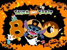 Disney Halloween, wallpapers, halloween disney - Stitch-Halloween ...