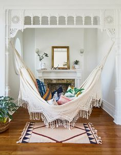 A HAMMOCK INSIDE??? YES, YES, YES!!!!!