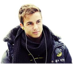 Mario Gotze scored Germany's game-winning goal in today's World Cup final. AND HE'S BEAUTIFUL. -E