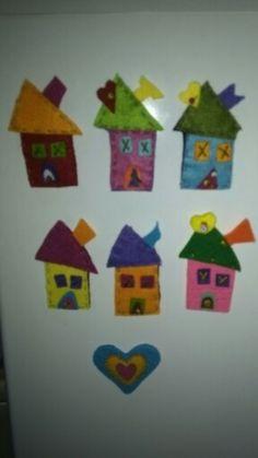 Minik magnet evlerim