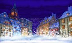 """Résultat de recherche d'images pour """"village neige noel"""""""
