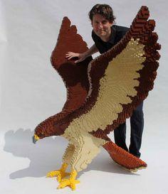 Esculturas feitas de LEGO | Para curtir - Yahoo! Notícias