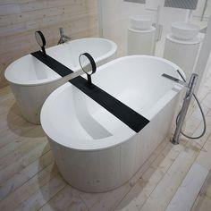 Vasca da bagno centro stanza in Livingtec® CIBELE by Ceramica Cielo   design Studio APG