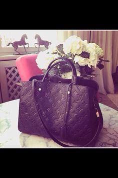 Louis Vuitton Montaigne Empreinte #love #mine #hellyes