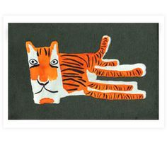 .tiger Auf magic-pony.com http://www.pinterest.com/artipi/animal-illustrations/