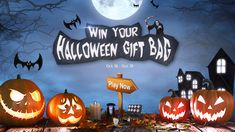 Helloween lucky draw Halloween Gift Bags, Halloween Night, Halloween Treats, Halloween Party, Beauty Giveaway, Facebook Giveaway, Christmas Giveaways, Instagram Giveaway, Dusk To Dawn