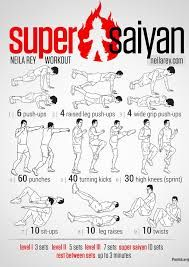 super saiyan exercise - Szukaj w Google
