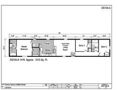 Single Wide Mobile Home in PA for Sale from Blacks Home Sales