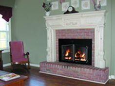 The Heritage Arch Plate Masonry Fireplace Door | Masonry Fireplace ...
