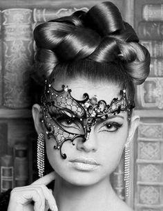 ON SALE Black Phantom of the Opera Inspired New Masquerade