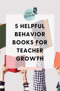 5 Behavior Books for Teachers