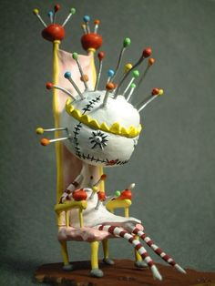 Tim Burton Pin Cushion Queen.