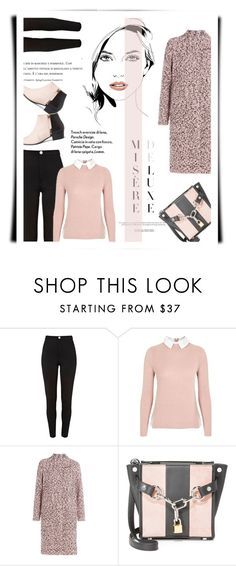 """""""Jumper+Jeans+Boots"""" by emcf3548 ❤ liked on Polyvore featuring River Island, Topshop, M Missoni, Alexander Wang and Nine to Five"""